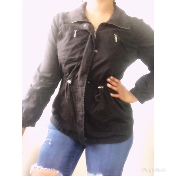 Style & Co Jackets & Blazers - Black utility jacket